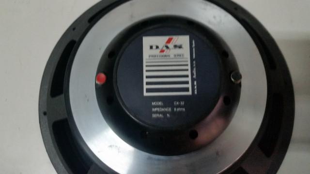 ALTAVOZ DAS MODELO CX 32 COAXIAL DE 500/1000 WTS