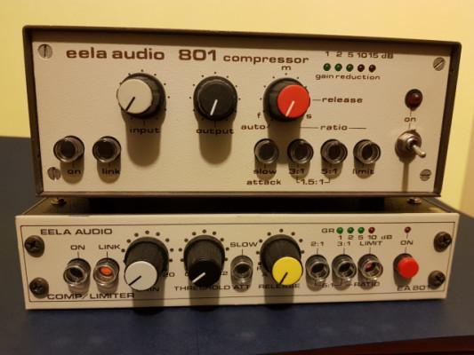 Compresores limitadores vintage Eela Audio