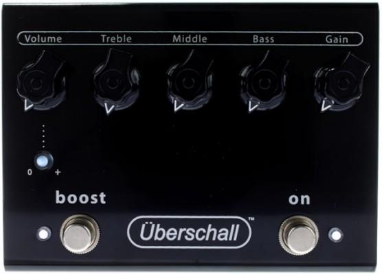Bogner Uberschall - Pedal Distorsión