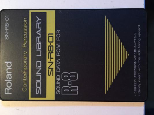 Tarjetas de sonido para Roland R8
