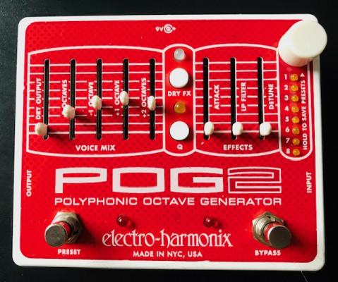 Octavador - Electro Harmonix POG2