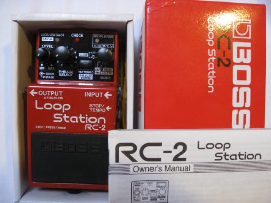 Boss RC-2 Loop Station con Alimentacion envio gratis