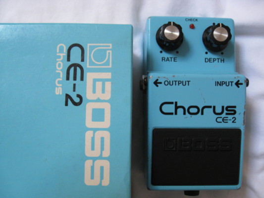 BOSS CE-2 Chorus Japan 1986 Greenie Envio Gratis