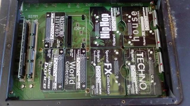 Expansiones Roland SRX y JV-80