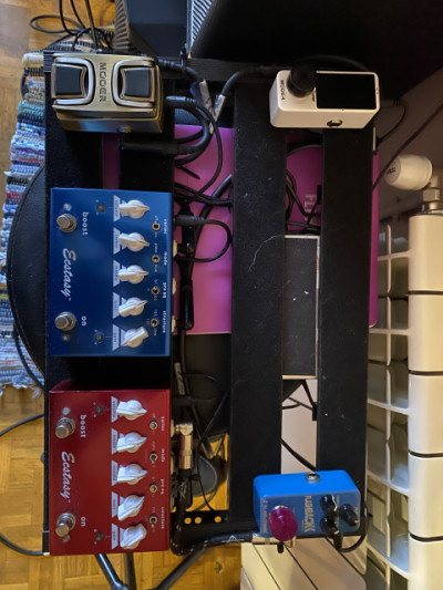 Pedales bogner, mooer, tc electronic