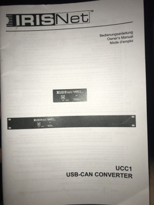 Electro Voice UCC1 para N8000 Irish Net , panel XLR  (nuevo )