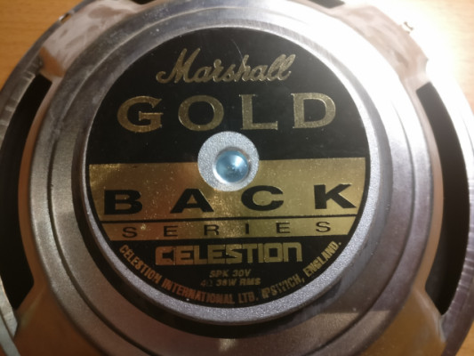 Altavoz celestion goldback