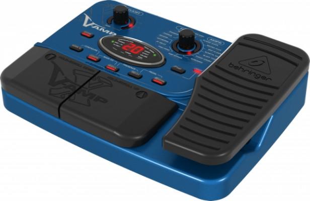 Pedal multiefectos y simulador amplificadores