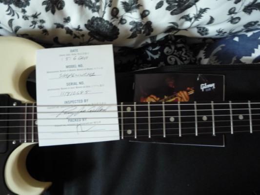 Gibson USA SG Special (no faded) 60's Tribute con p90s, cableado 50's y condensadores rusos (nuevo precio de risa)