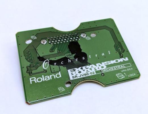 Expansion Roland SR JV ORCHESTRAL