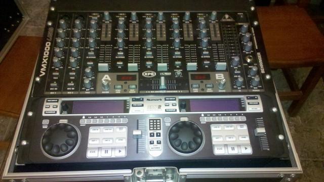 Equipo Dj completo (mesa+controlador+tarjeta sonido+flightcase)