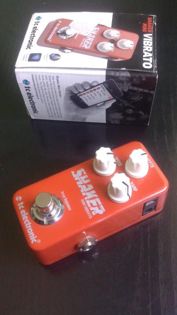 Shaker mini Vibrato tc electronic