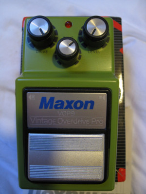 MAXON PRO VOP9 Vintage overdrive tube screamer Hecho en Japon