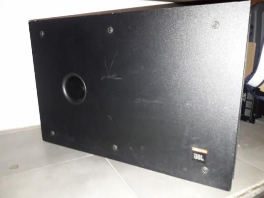 subwoofer subgrave jbl control sb-2 en perfecto estado, pasivo 2