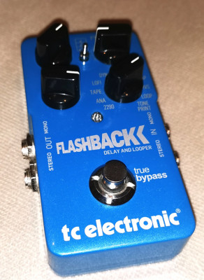Pedal guitarra Delay Flashback TC Electronics