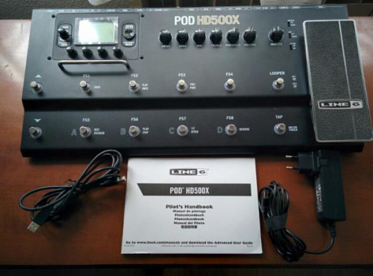 Pod HD500x de Line 6