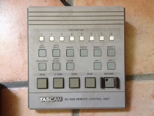 TASCAM RC808  REMOTE CONTROL
