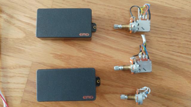 EMG 81TW y 89 + Potenciómetros