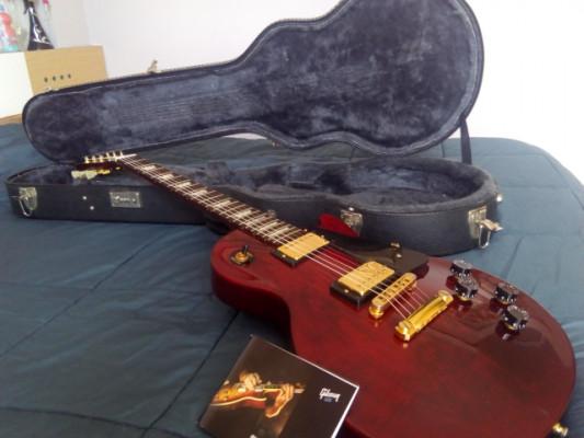 Gibson lp studio 02 modificada.REBAJON PARA VENTA(nuevos cambios)