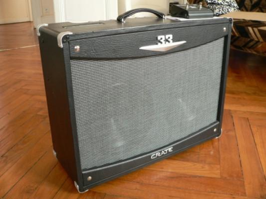 Amplificador valvulas Crate V33