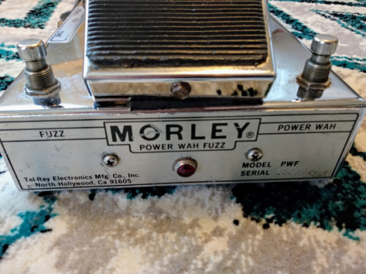 Morley Wha Fuzz Cliff Burton