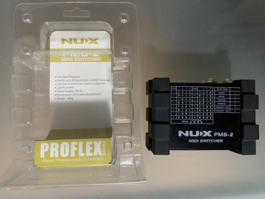 Nux pms-2 midi switcher