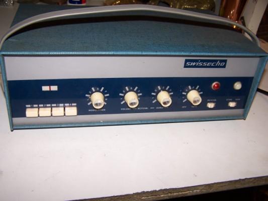 Eco de cinta a Valvulas Swissecho de 1963
