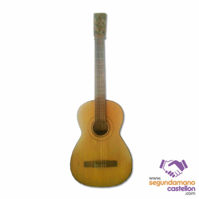 Guitarra española antigua vintage basilio marin ferrer