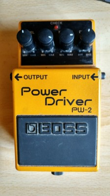 Boss Power Driver PW-2-RESERVADO