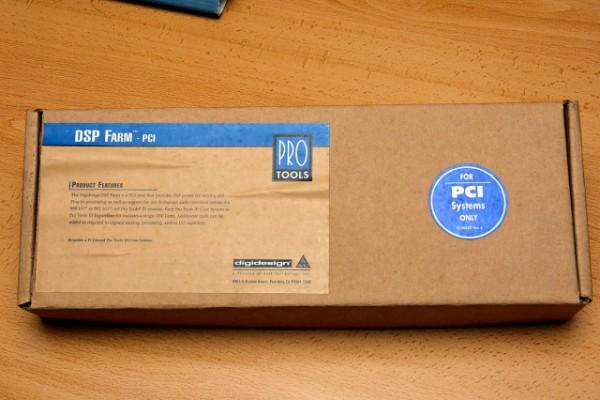 /Cambio: Tarjeta ProTools III DSP Farm PCI