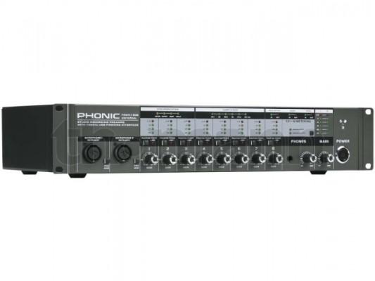 interface de audio usb-firewire Phonic FireFly 808 U - 24bit/192kHz