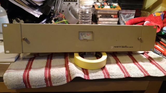 Compresores limitadores vintage MARTI