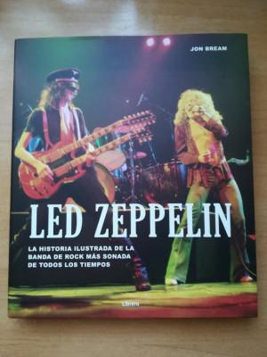 Led Zeppelin, la historia ilustrada