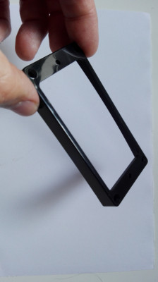 Marco negro de plástico para Humbucker