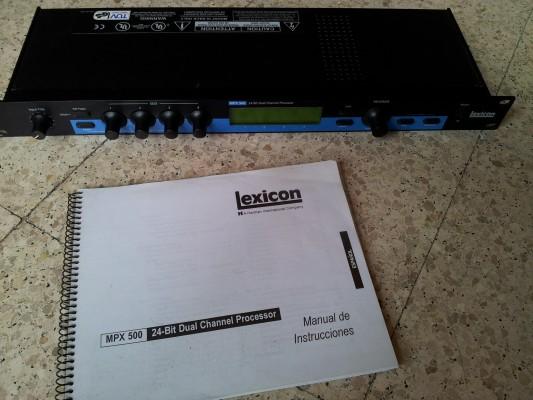Multiefectos Lexicon mpx 500