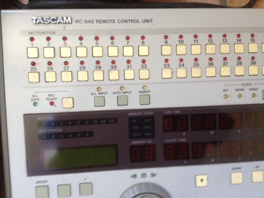 TASCAM RC-848 REMOTE CONTROL