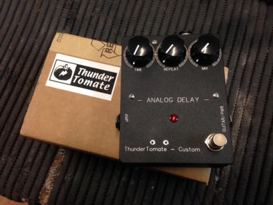Analog Delay Thundertomate y BOSS MT-2