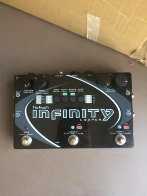 Infinity looper + pedal expresión
