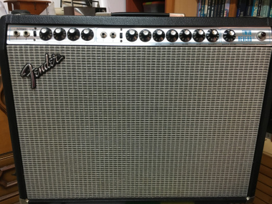 Fender Twin Reverb 1973, silver face