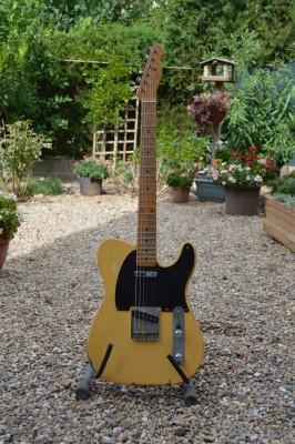 Fender Telecaster Road Worn 50's con mejoras