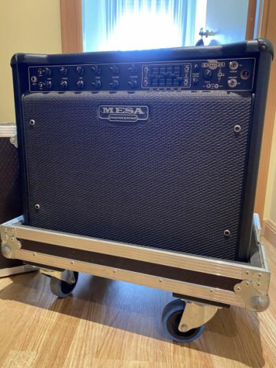 Mesa Boogie Express 5:50 plus o cambio por Helix Rack