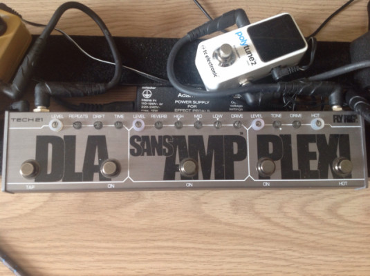 Tech21 fly rig5 delay sans amp plexi