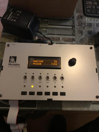 Mutable instruments module tester eurorack