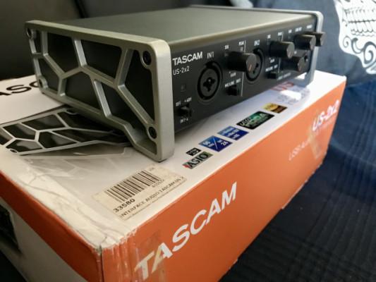Tarjeta de sonido Usb Tascam US-2x2