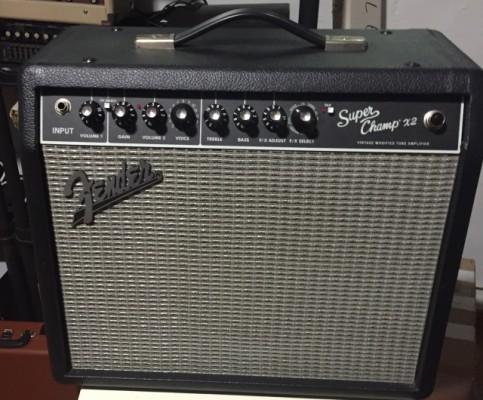 Fender superchamp x2 también cambio