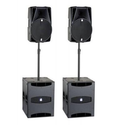 Alquiler Equipo de Sonido Profesional 3000W