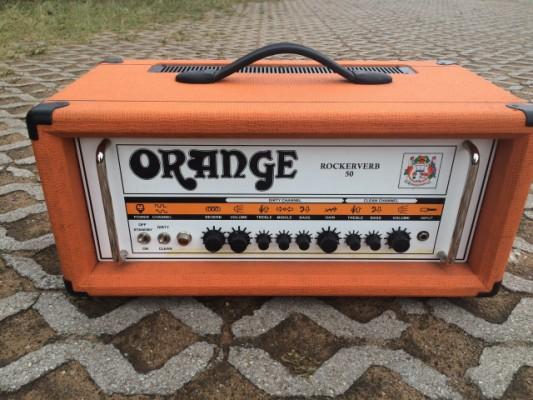 Vendo cabezal Orange rockerverb mki