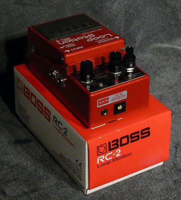 O Cambio Boss RC-2 Loop Station