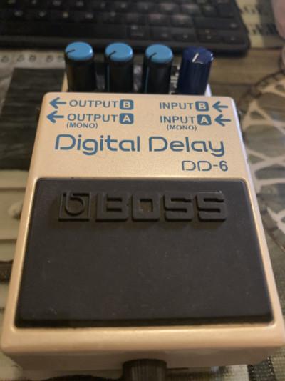 Boss digital delay DD6