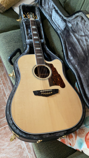 Guitarra D'Angelico Excel Bowery EDICIÓN LIMITADA toda MACIZA